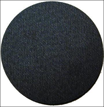 Schaumstoff Softauflage 77mm ungelocht mit Kletthaftung D=5mm