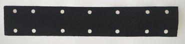 KLETT Schutzauflage 70 x 400 mm Klett-Auflage 14-fach gelocht
