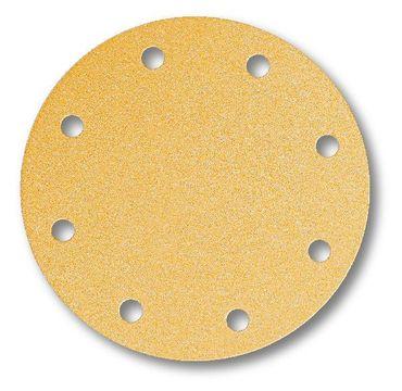 MIRKA Scheiben Gold Ø 200 mm Klett P180 9-fach gelocht (50 St)   – Bild 2