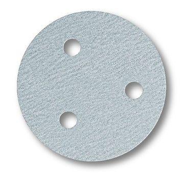 MIRKA Scheiben Q.Silver Ø 77 mm  GRIP P500  3-fach gelocht VE=100 St.