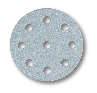 MIRKA Scheiben Q.Silver Ø 125 mm Klett P400 9-fach gelocht (100 St)   – Bild 1