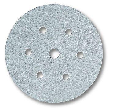 MIRKA Scheiben Q.Silver Ø 150 mm Klett P320 7-fach gelocht (100 St)   – Bild 1