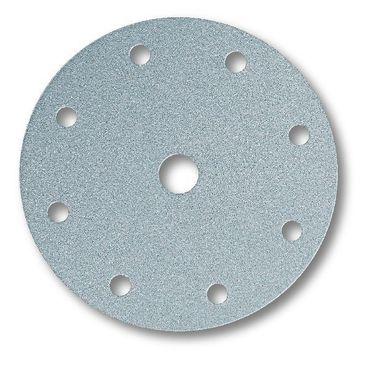 MIRKA Scheiben Q.Silver Ø 150 mm Klett P320 9-fach gelocht (100 St)   – Bild 1