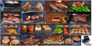 Kombi: Pelletsmoker S + Cover + V2A Rost + PIZZA + PLANCHA + 15 kg Pellets (Profi Pelletgrill Smoker Holzpelletsmoker Holzpelletgrill) – Bild 8