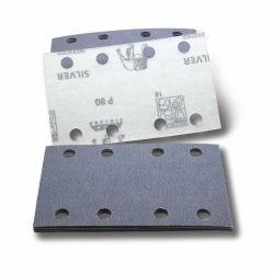 Schleifbogen 80x130mm Industrie Klett P400 8-Loch VE=50 Stück