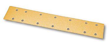 MIRKA Streifen Gold 70 x 450 mm STICK P120 14-fach gelocht (100 St)