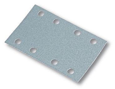 MIRKA Streifen Q.Silver 81 x 133 mm Klett P240 8-fach gelocht (100 St)