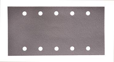 MIRKA Streifen Q.Silver 115 x 230 mm Klett P320 10-fach gelocht (100 St)   – Bild 3