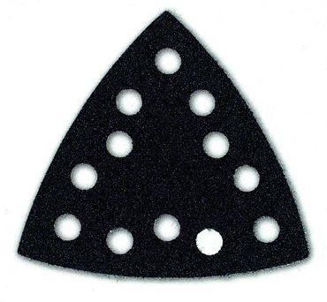 MIRKA Schutzauflagen für Deltaschleifer 90 x 90 mm Klett  12-Loch (1 St)   – Bild 1