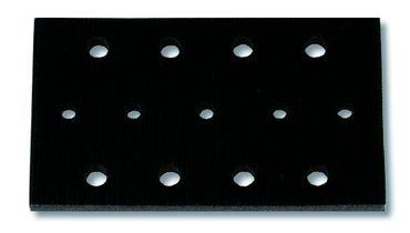 MIRKA Softauflagen für Handblöcke mit Absaugung 70 x 125 mm Klett  13-Loch (1 St)  7 mm