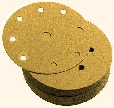 SCHLEIFSCHEIBEN KLETT 150mm 9-fach (FESTO) P240 GOLDEN 100 Stück