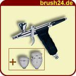 PROFI AIRBRUSH PISTOLE Airbrushpistole Double Action 116A 001