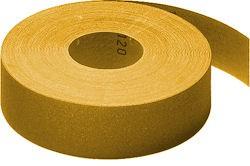 Rolle Papier GOLD 30mm x 50m mit Klebehaftung P180 VE=1 Stück