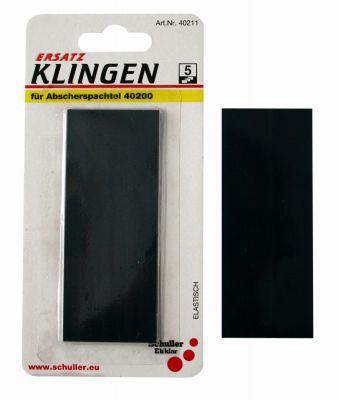 Abscherspachtel 5 Ersatzklingen 10cm x 0,3mm SB verpackt VE=12 St