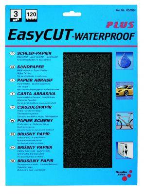 3 x Wasserschleifpapier, EasyCUT  Korn 120  VE=12 St