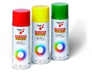 Prisma Color, Lackspray GLÄNZEND  Farbe karminrot RAL3002 VE=6 St