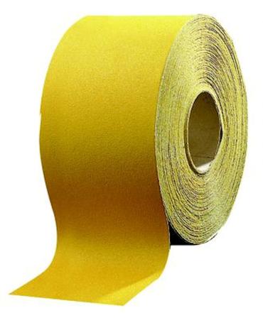 Schleifpapier Rolle 115mm x 50m P180 GOLDEN – Bild 1