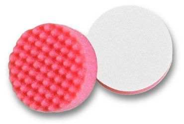 MIRKA Polarshine Polierpads Ø 77 mm oranges Pad (gewaffelt) VE=2 St.