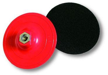 MIRKA Polarshine Stützteller  Ø 77 mm    (1 St)  für Ø 77 mm Schaumstoffpads, hart, GRIP-Haftung, M14-Gewinde – Bild 1