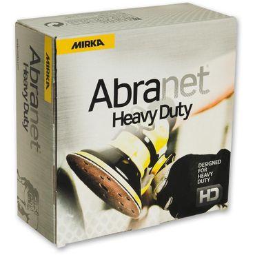 MIRKA Scheiben Abranet HD Ø 150 mm Klett P120 15-fach gelocht (25 St)  nicht mehr lieferbar. wird ersetzt durch AH24102512 – Bild 1