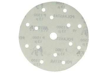 MIRKA Scheiben Polarstar Ø 150 mm Klett P1500 15-fach gelocht (50 St)   – Bild 1