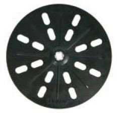 MIRKA MIRKA Grip-Grundplatte   Ø 225 mm Klett  27 Loch (1 St)  Grundplatte für Schleifauflage – Bild 1