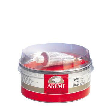AKEMI Feinspachtel Super Soft + Härter (1 kg) – Bild 1