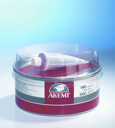 AKEMI Elastic-Spachtel Pulverspachtel + Härter (2 kg)