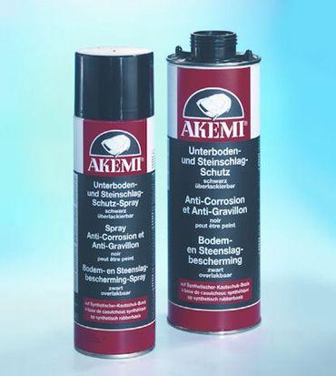AKEMI Unterboden- und Steinschlagschutz Basis synth. Kautschuk Farbe: schwarz (500 ml Spray)