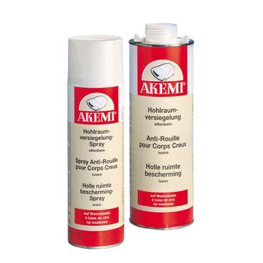 AKEMI Hohlraumversiegelung, Basis Wachs (500 ml Spray) – Bild 1