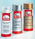 AKEMI Felgen-Farbspray Farbe: Felgengold (400 ml) – Bild 1