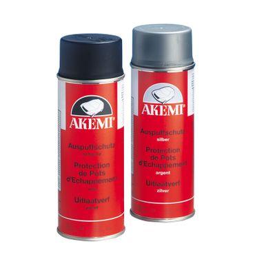 AKEMI Auspuffschutz-Spray Farbe: silber (400 ml Spray) – Bild 1