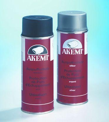 AKEMI Auspuffschutz-Spray Farbe: silber (400 ml Spray) – Bild 2