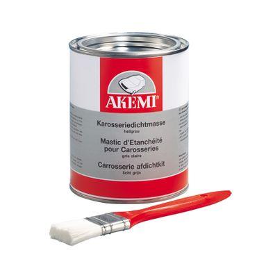 AKEMI Karosseriedichtmasse 1-Komponenten-Dichtmasse Farbe: hellgrau (1,2 kg Dose) – Bild 1
