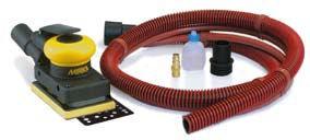 Aktion! MIRKA Druckluft-Schwingschleifer Zentralabsaugung 81 x 133 mm 3,0 mm Hub, inkl. Schutzauflag – Bild 1