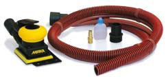 Aktion! MIRKA Druckluft-Schwingschleifer Zentralabsaugung 75 x 100 mm 3,0 mm Hub, inkl. Schutzauflag – Bild 2