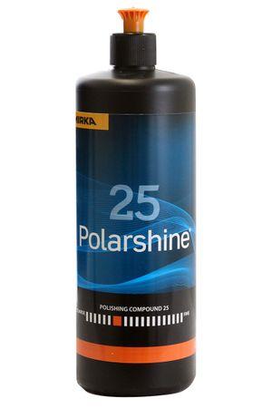 MIRKA Polarshine 25  1000 ml    (1 St)  Grobe Politur - entfernt grobe Schleifriefen durch P 1000  (und feiner). – Bild 1