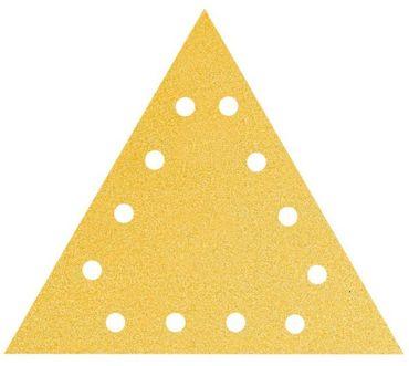 MIRKA Delta-Scheiben Gold 290 x290 x 290 GRIP P240 12-fach gelocht VE=25 St.