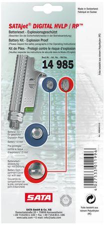 Batterie-Set [für SATAjet 2000 DIGITAL, jet RP DIGITAL] – Bild 1