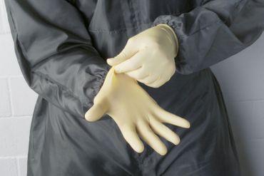 Latex-Handschuhe, Verpackungseinheit 100 Stück – Bild 1