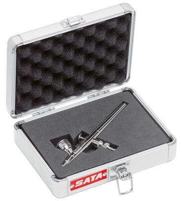 SATAgraph 1 Düse 0,25 mit 2,5 ml Fließbecher, im Alu-Koffer, ohne Schlauch – Bild 1