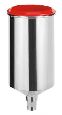 Alu-Mehrwegbecher, 0,75 l mit QCC ohne Feingewinde [für SATAjet 5000 B, jet 4000 B, jet 3000 B, jet 2000, jet 1000 B, jet 100 B, jet RP] – Bild 1