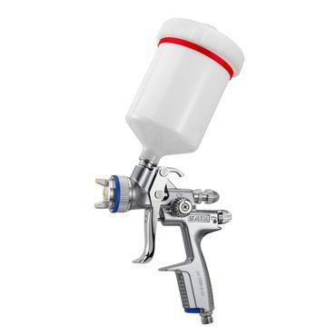 SATAjet 1000 B RP Düse 2,5  0,6 l QCC Kunststoff-Mehrwegbecher, Drehgelenk – Bild 2