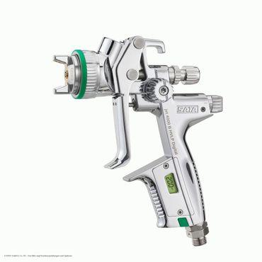 SATAjet 4000 B HVLP DIGITAL bar Düse 1,4  0,6 l QCC Kunststoff-Mehrwegbecher, Drehgelenk – Bild 1