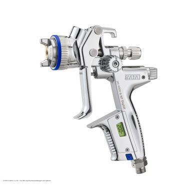SATAjet 4000 B RP DIGITAL bar Düse 2,0  0,6 l QCC Kunststoff-Mehrwegbecher, Drehgelenk – Bild 1