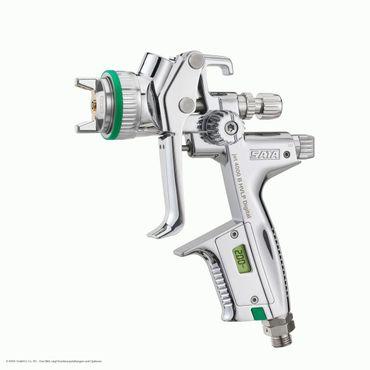 SATAjet 4000 B HVLP DIGITAL bar Düse 1,7  0,6 l QCC Kunststoff-Mehrwegbecher, Drehgelenk – Bild 2