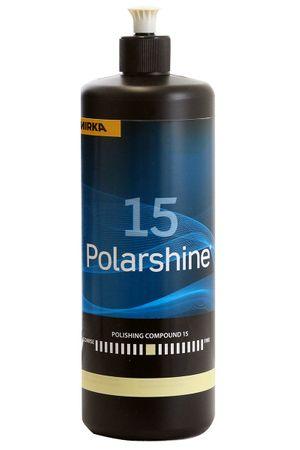 MIRKA Polarshine 15  1000 ml    (1 St)  Mittelgrobe Politur - entfernt mittelgrobe Schleifriefen durch P 1200 (und feiner). – Bild 1
