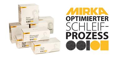 MIRKA Scheiben OSP-1 Scheibe Ø 150 mm Klett  Gitternetz (50 St)   – Bild 2