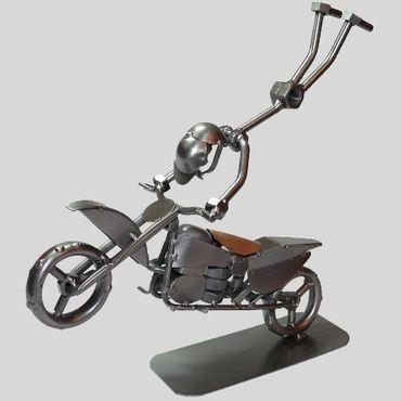 SCHRAUBENMÄNNCHEN Akrobat auf Motorrad – Bild 1