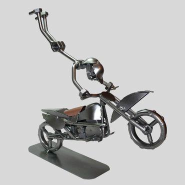 SCHRAUBENMÄNNCHEN Akrobat auf Motorrad – Bild 2